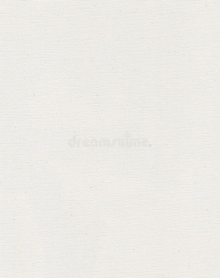 λευκό σύστασης καμβά στοκ φωτογραφία