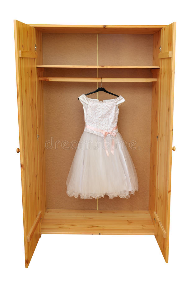 λευκό φορεμάτων στοκ εικόνες