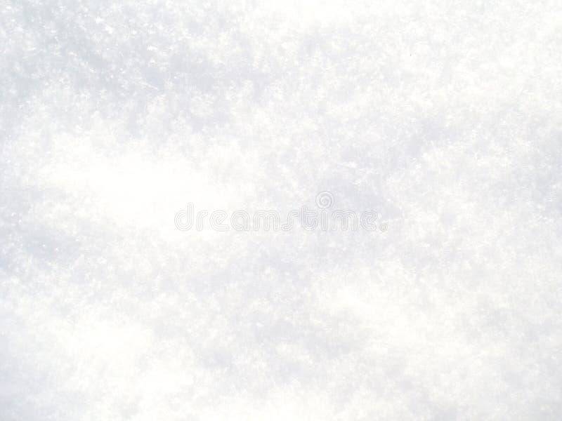 Λευκό φρέσκο χιόνι φόντο το χειμώνα στοκ φωτογραφία με δικαίωμα ελεύθερης χρήσης