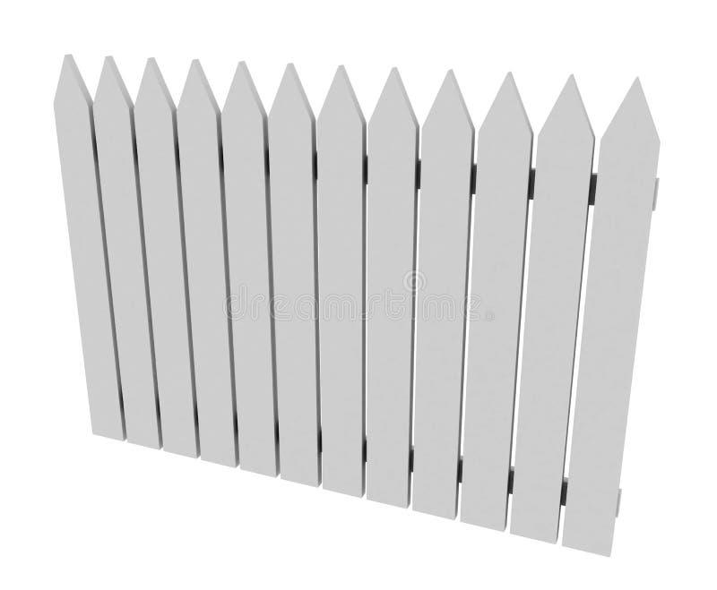 λευκό φραγών διανυσματική απεικόνιση