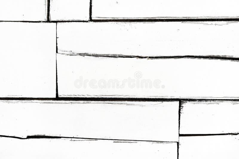 Λευκό φόντο μικρών λευκών σανίδων με διάφορα μεγέθη, με μορφή εμπλάστρων στοκ εικόνα