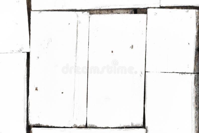 Λευκό φόντο μικρών λευκών σανίδων με διάφορα μεγέθη, με μορφή εμπλάστρων στοκ εικόνες με δικαίωμα ελεύθερης χρήσης