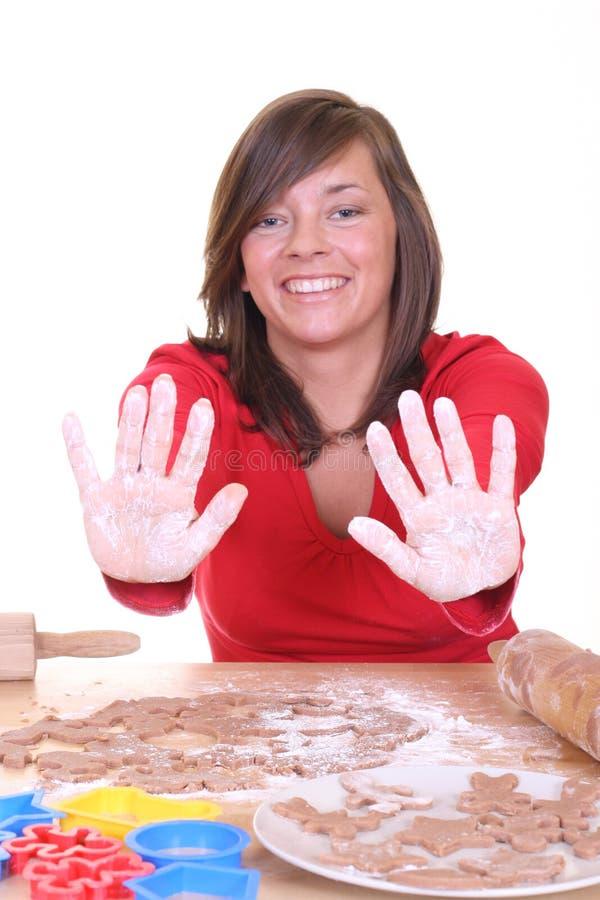 Download λευκό χεριών στοκ εικόνα. εικόνα από ψωμιών, γιορτάστε - 1548355
