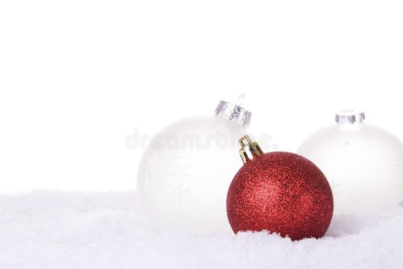 λευκό Χριστουγέννων ανασκόπησης στοκ εικόνα