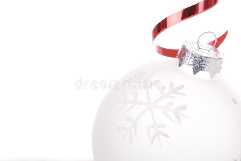 λευκό Χριστουγέννων ανα&si στοκ εικόνες με δικαίωμα ελεύθερης χρήσης