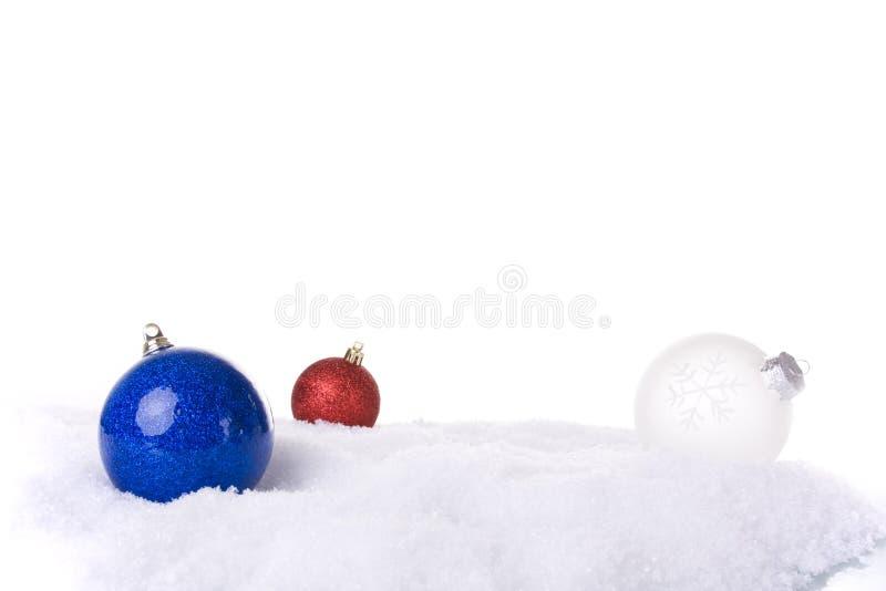 λευκό Χριστουγέννων ανα&si στοκ εικόνα με δικαίωμα ελεύθερης χρήσης