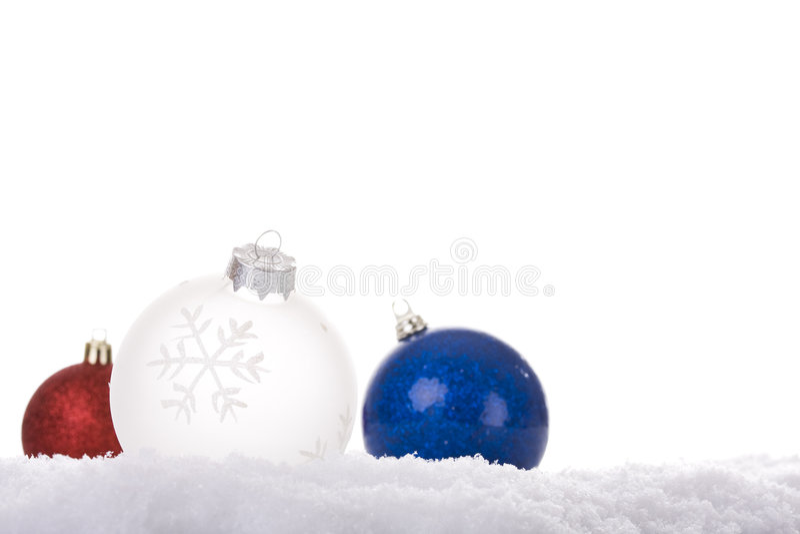λευκό Χριστουγέννων ανα&si στοκ φωτογραφίες