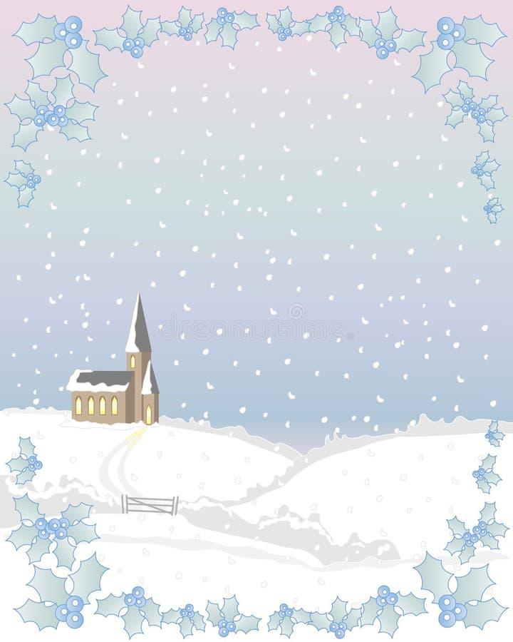 λευκό Χριστουγέννων απεικόνιση αποθεμάτων