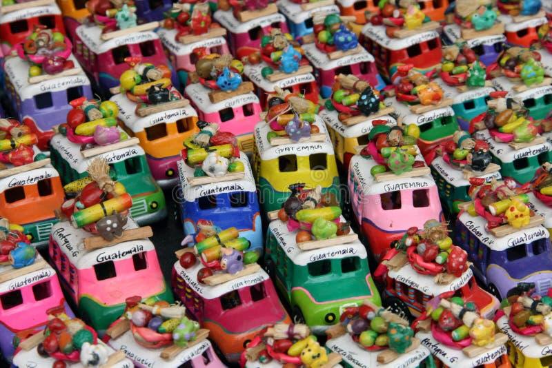 Λεωφορεία κοτόπουλου στη Γουατεμάλα στοκ εικόνες με δικαίωμα ελεύθερης χρήσης