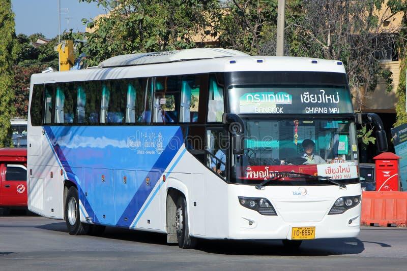 Λεωφορείο της μπλε ζώνης 9 στοκ εικόνα με δικαίωμα ελεύθερης χρήσης