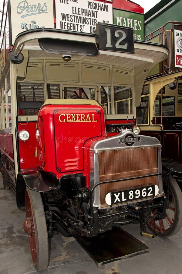 Λεωφορείο του Λονδίνου από τη δεκαετία του '20 στοκ εικόνα με δικαίωμα ελεύθερης χρήσης