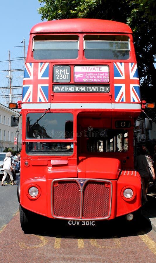 Λεωφορείο του Λονδίνου στοκ εικόνες
