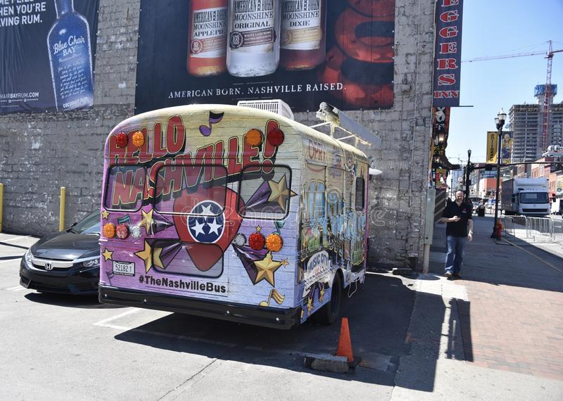 Λεωφορείο του Νάσβιλ Τένεσι Wyndham στοκ φωτογραφία