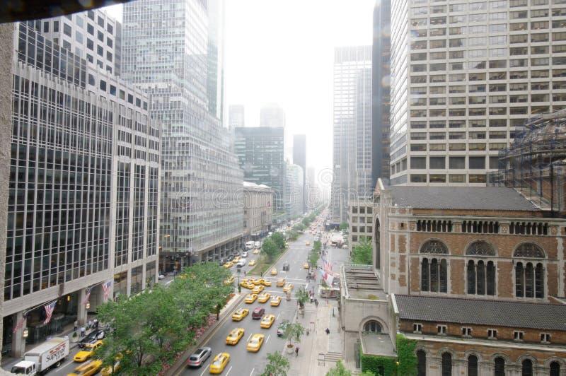 Λεωφόρος πάρκων, πόλη της Νέας Υόρκης, Νέα Υόρκη στοκ εικόνα με δικαίωμα ελεύθερης χρήσης