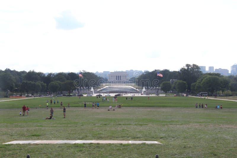 Λεωφόρος του Washington DC μέχρι την ημέρα στοκ εικόνα με δικαίωμα ελεύθερης χρήσης