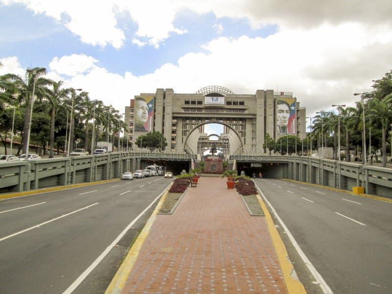 Λεωφόρος bolívar, bolívar Avenida, Καράκας, Βενεζουέλα στοκ φωτογραφίες με δικαίωμα ελεύθερης χρήσης