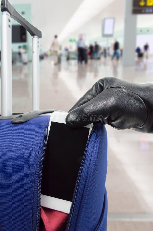 Ληστεία στον αερολιμένα στοκ φωτογραφία με δικαίωμα ελεύθερης χρήσης