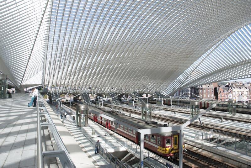 Λιέγη-Guillemins στοκ φωτογραφία με δικαίωμα ελεύθερης χρήσης