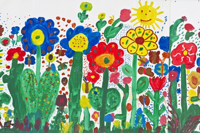 λιβάδι λουλουδιών στοκ εικόνες