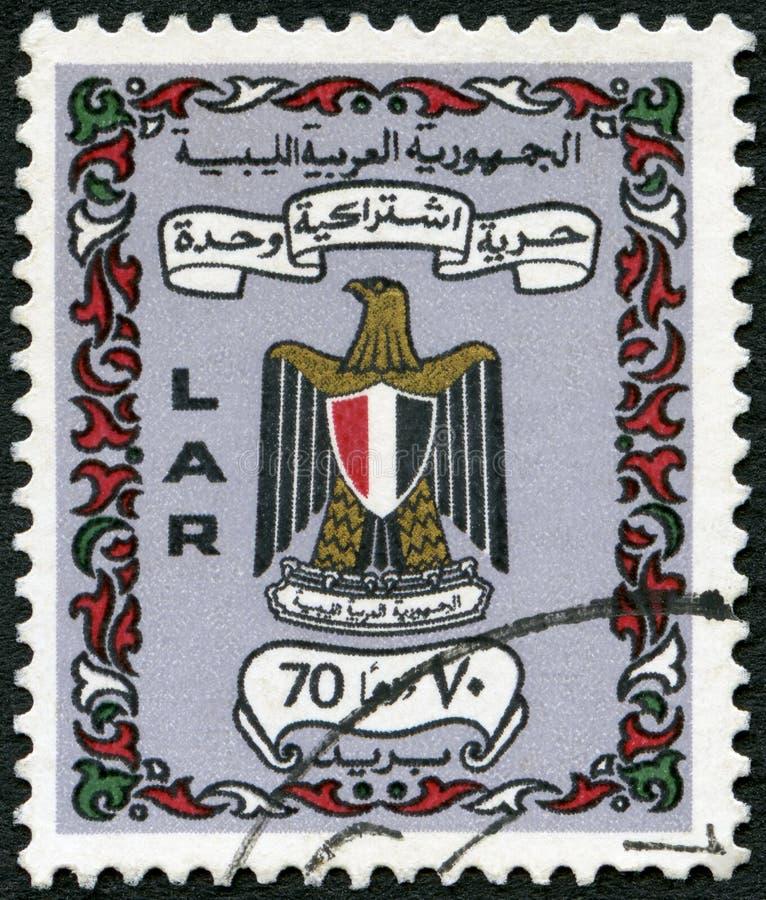 ΛΙΒΥΗ - 1972: παρουσιάζει όπλα της Λιβύης στοκ εικόνες