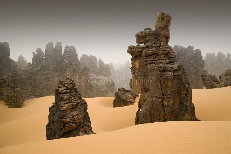 Λιβυκή έρημος στοκ εικόνα με δικαίωμα ελεύθερης χρήσης