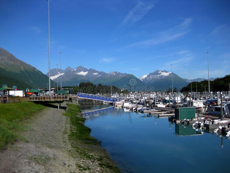 Λιμάνι βαρκών στις αντανακλάσεις πρωινού Valdez στοκ φωτογραφίες με δικαίωμα ελεύθερης χρήσης