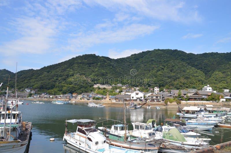 Λιμάνι Ιαπωνία 2016 Tomonoura στοκ φωτογραφία με δικαίωμα ελεύθερης χρήσης