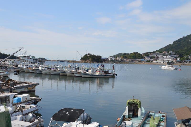 Λιμάνι Ιαπωνία 2016 Tomonoura στοκ φωτογραφίες με δικαίωμα ελεύθερης χρήσης