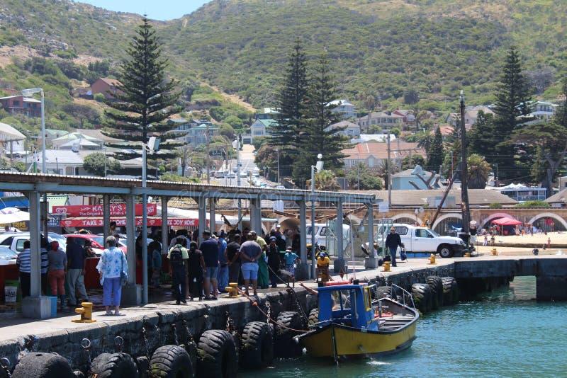 Λιμάνι κόλπων Kalk στο Καίηπ Τάουν στοκ εικόνες