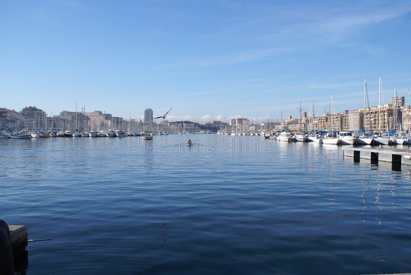 λιμάνι Μασσαλία στοκ εικόνες