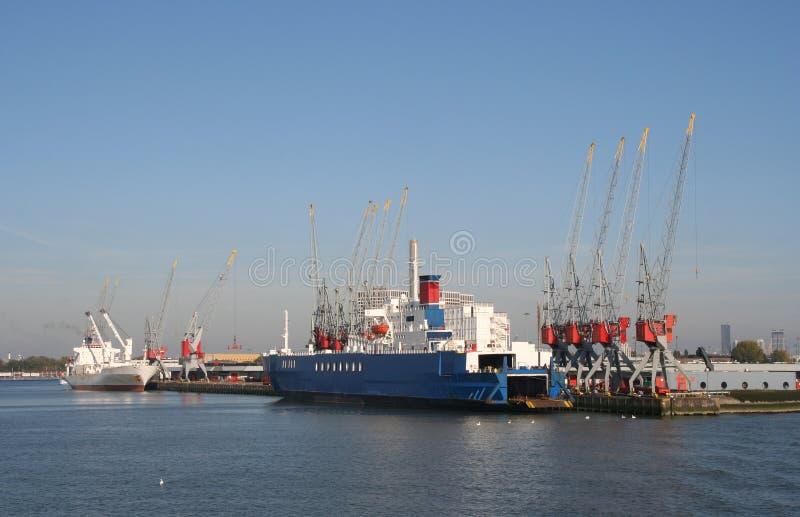 λιμάνι Ρότερνταμ στοκ φωτογραφία με δικαίωμα ελεύθερης χρήσης
