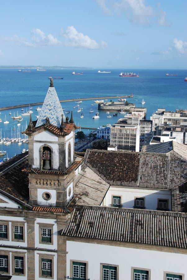 λιμάνι Σαλβαδόρ στοκ φωτογραφία με δικαίωμα ελεύθερης χρήσης