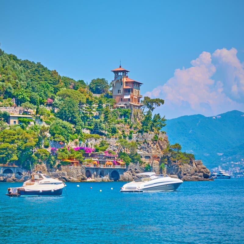 Λιμάνι σε Portofino στοκ εικόνα