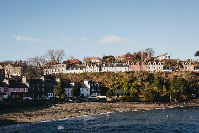 Λιμάνι σε Portree, νησί της Skye, Σκωτία στοκ φωτογραφία με δικαίωμα ελεύθερης χρήσης