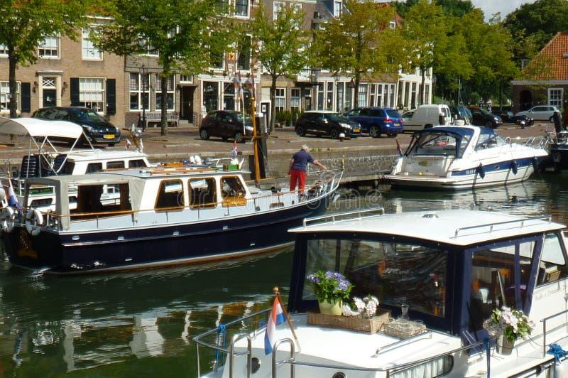 Λιμάνι στις Κάτω Χώρες στοκ εικόνες με δικαίωμα ελεύθερης χρήσης