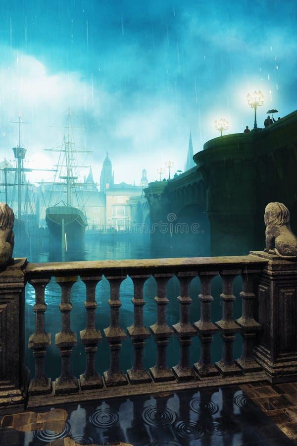Λιμάνι του Λονδίνου στοκ εικόνα