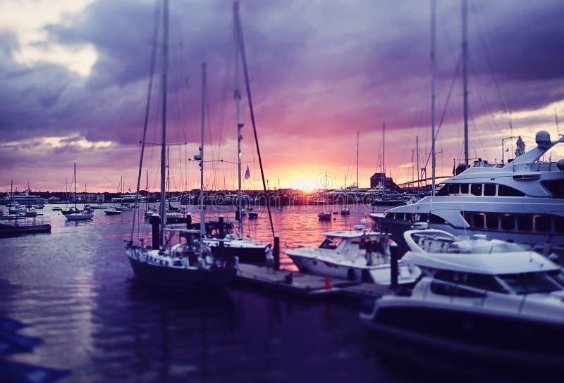 Λιμάνι του Νιούπορτ στοκ εικόνα με δικαίωμα ελεύθερης χρήσης