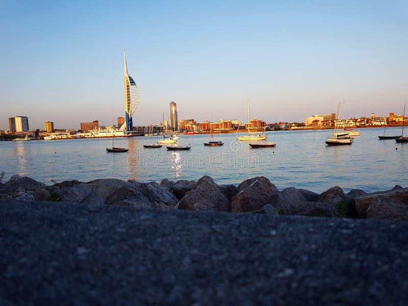 Λιμάνι του Πόρτσμουθ στοκ φωτογραφίες