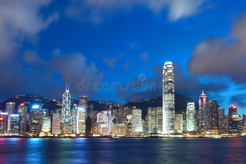 λιμάνι Χογκ Κογκ Βικτώρι&alp στοκ εικόνα με δικαίωμα ελεύθερης χρήσης
