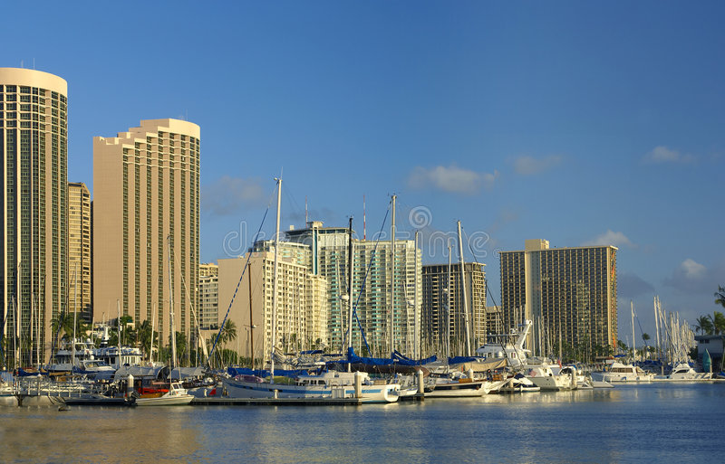 λιμάνι Χονολουλού στοκ φωτογραφίες με δικαίωμα ελεύθερης χρήσης
