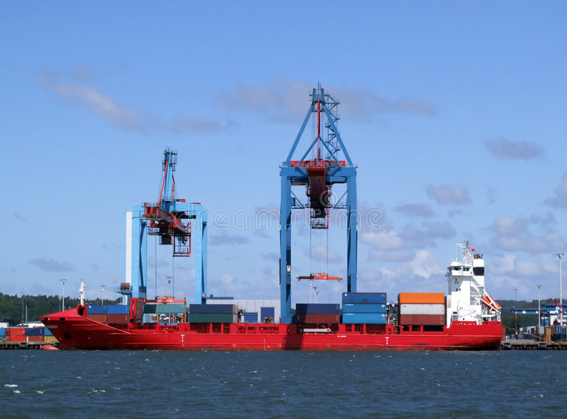 λιμάνι 09 Γκέτεμπουργκ στοκ φωτογραφία με δικαίωμα ελεύθερης χρήσης