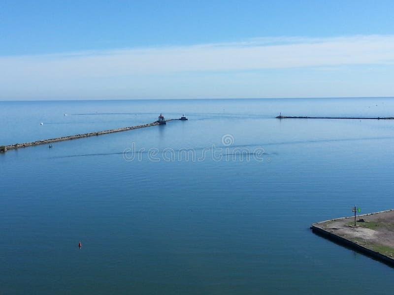 Λιμάνι Ashtabula στοκ φωτογραφία