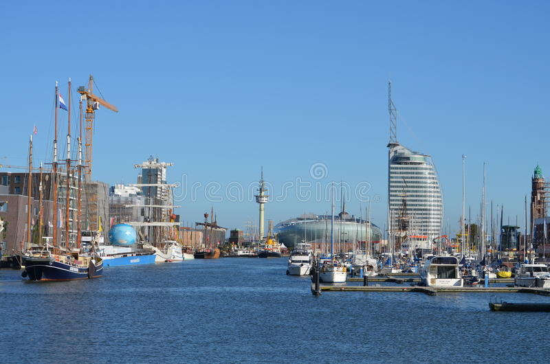 Λιμάνι Bremerhaven, Γερμανία στοκ εικόνες
