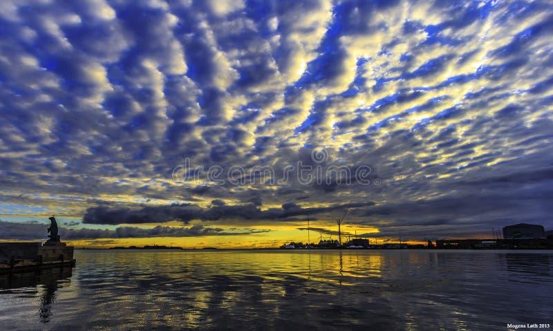Λιμάνι Cpenhagen στοκ φωτογραφίες με δικαίωμα ελεύθερης χρήσης