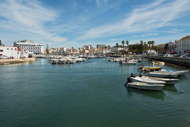 Λιμάνι Faro στοκ φωτογραφίες με δικαίωμα ελεύθερης χρήσης
