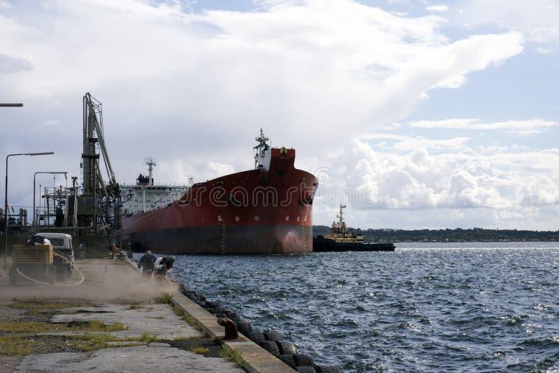 Λιμάνι Fredericia στοκ φωτογραφία με δικαίωμα ελεύθερης χρήσης