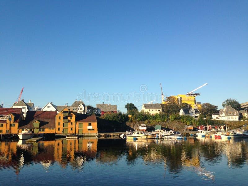 Λιμάνι Haugesund στοκ φωτογραφίες