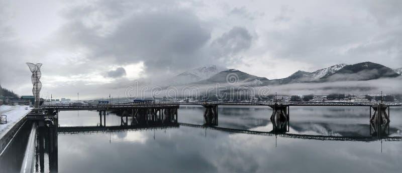 Λιμάνι Juneau στοκ φωτογραφία με δικαίωμα ελεύθερης χρήσης