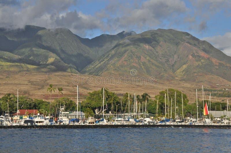 Λιμάνι Lahaina στοκ εικόνες με δικαίωμα ελεύθερης χρήσης