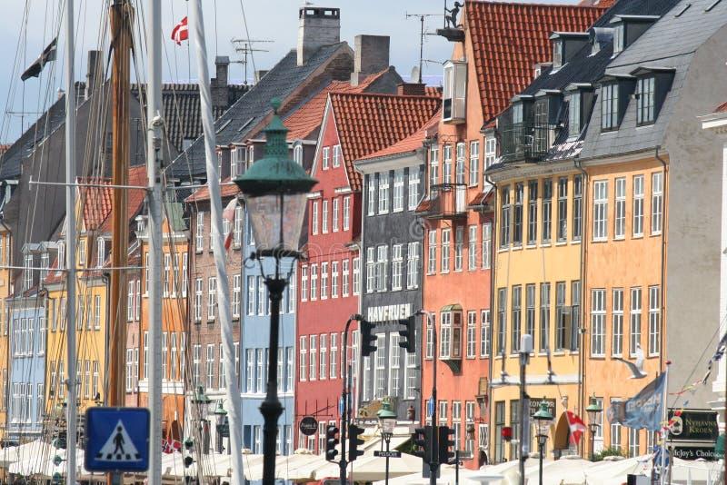 Λιμάνι Nyhavn στοκ φωτογραφίες